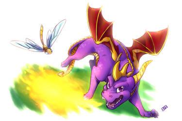Spyro by TaintedDNA