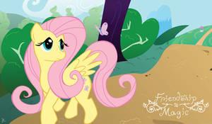 MLP: Fluttershy by JacksonCobalt