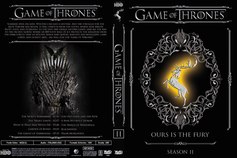 Game Of Thrones 2 By Mooneclypse On DeviantArt