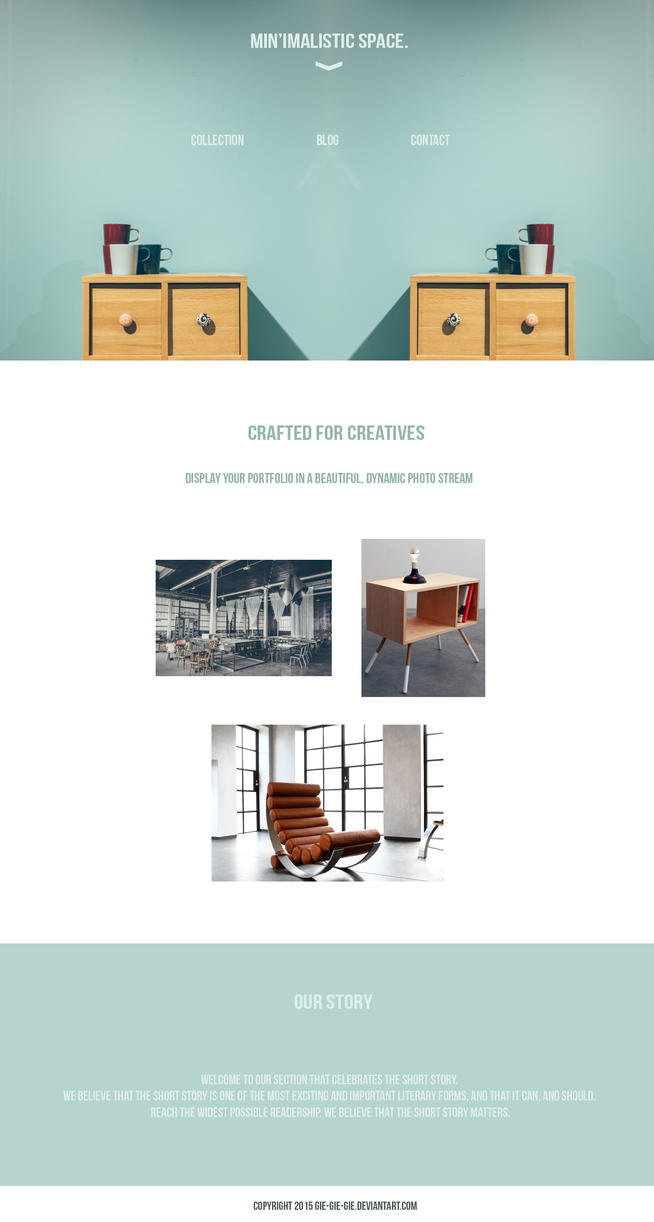 minimalistic furniture by gie-gie-gie