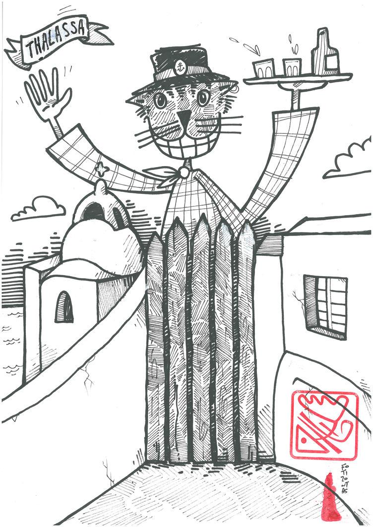 Tourist Service Cat by fotizontas