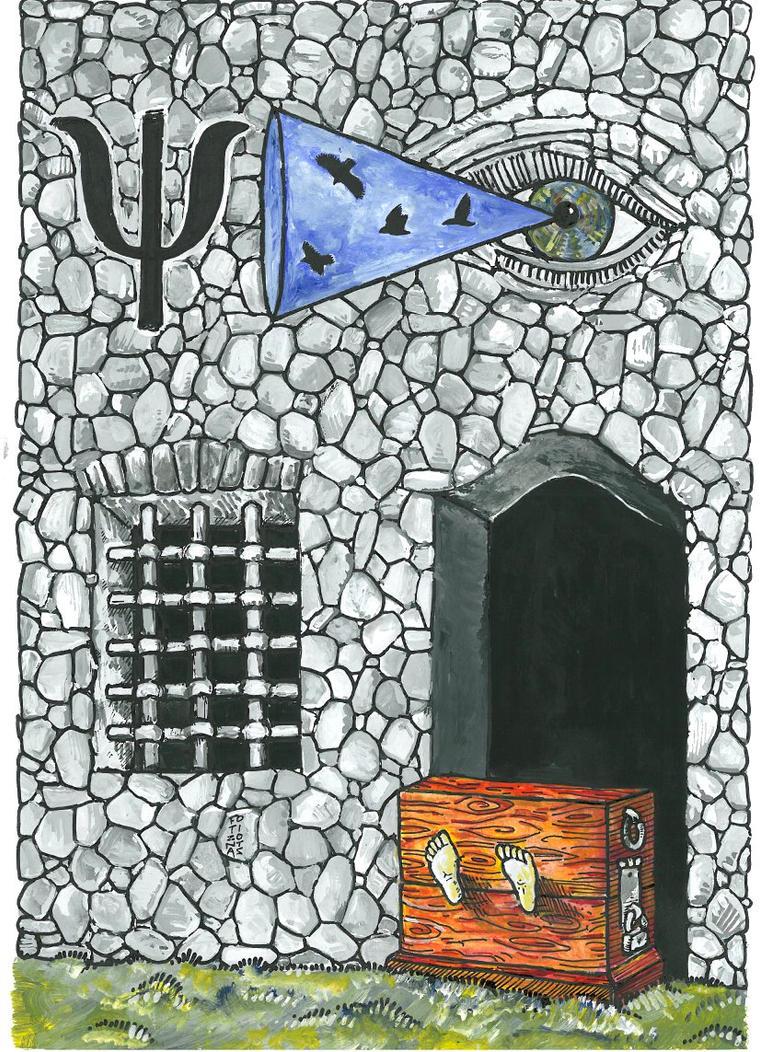 Mental Health In Prison by fotizontas