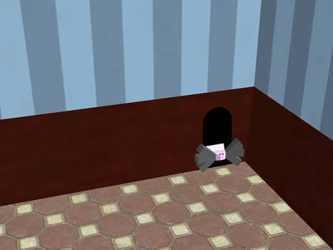 Peeky Hole Mouse