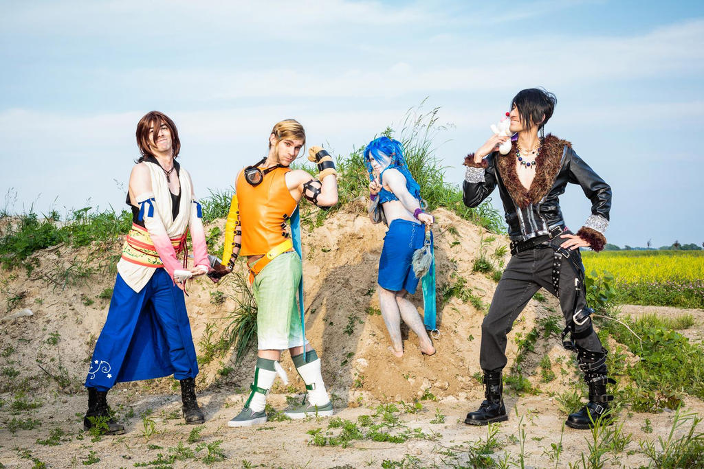 Girls of ... I mean guys of FFX? by Yukosplay