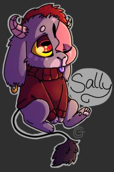 Smol Sally (for Yarmii)///^w^ by Chibi-CJ