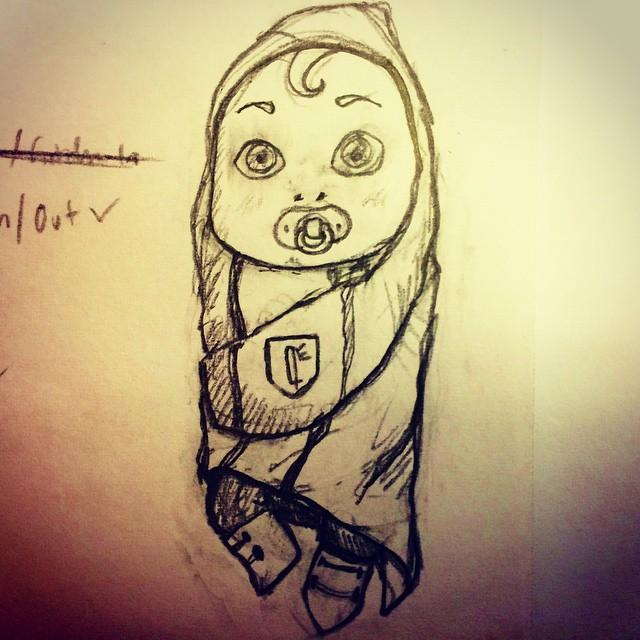 Baby Odiah - Concept by IsenHerra