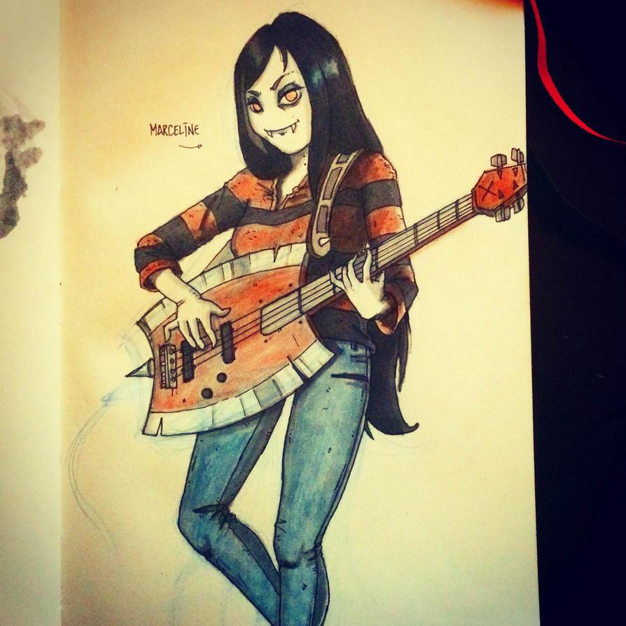 Marceline by IsenHerra