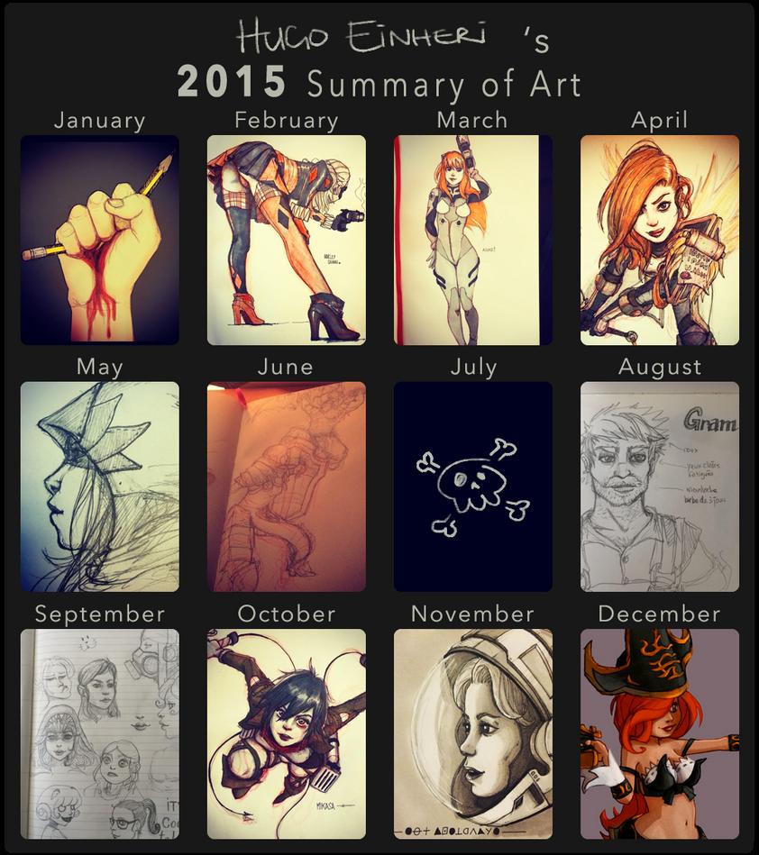 2015 Summary of Art by IsenHerra