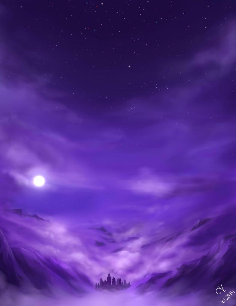 Under Purple Skies by darklady-ev1
