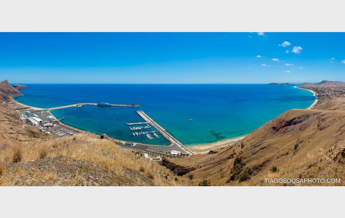 Praia do Porto Santo - Madeira by Tiagoto