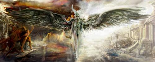 Good v Evil War in Heaven