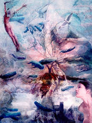 A dream of a World with Whales by Flockhart