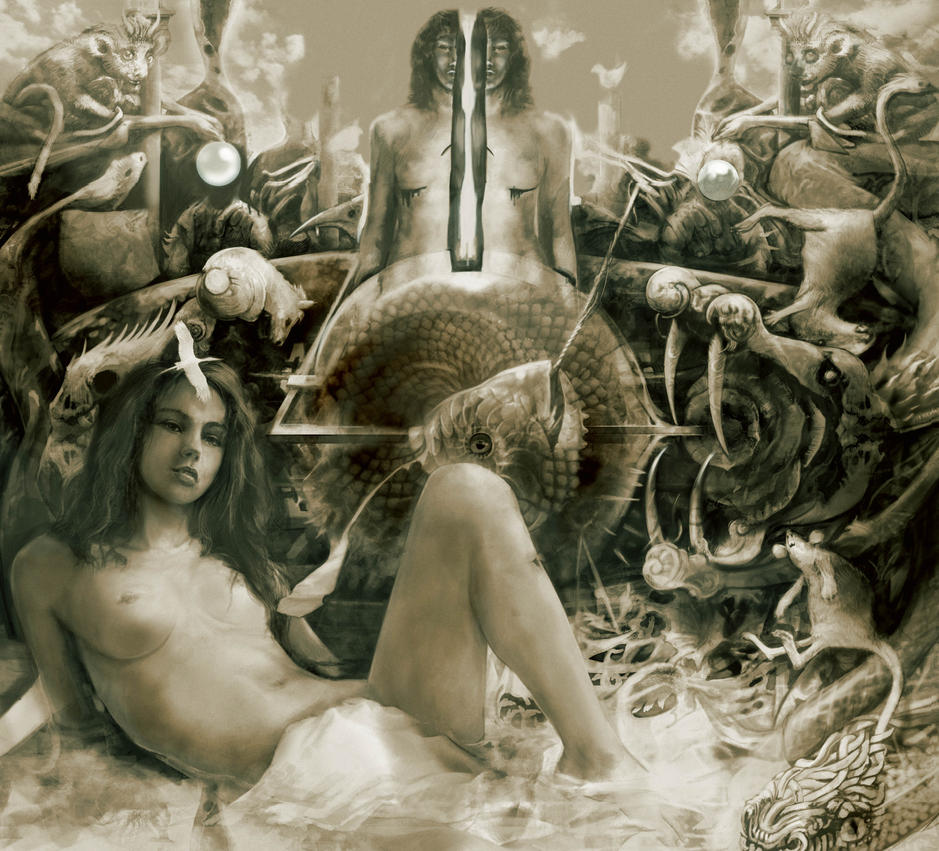 Biancabella and the Snake by Flockhart