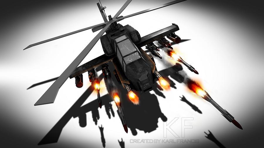 Firing Apache by KFDesign