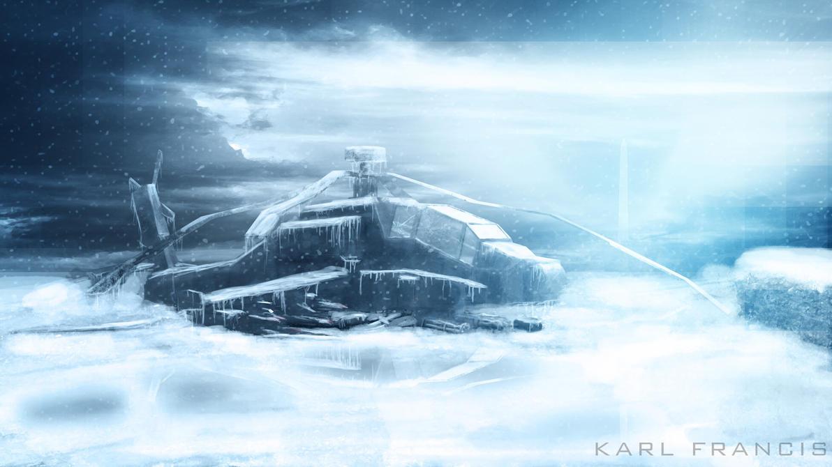 Frozen Gunship by KFDesign