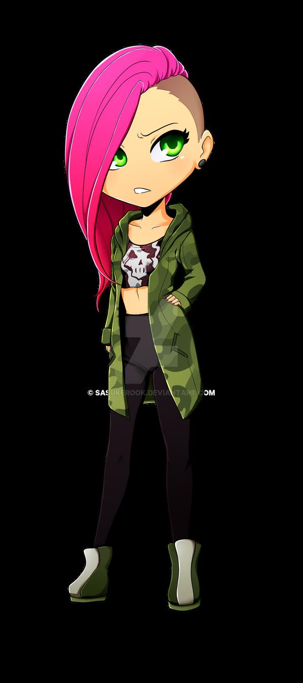Chibi Violet by sasukerook