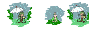 Little Jewlia: Rain Rain