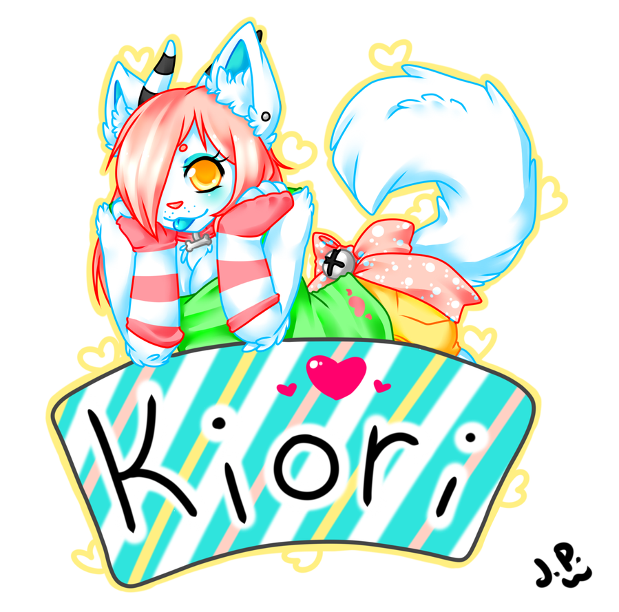 Kiori Badge by LovelessKia