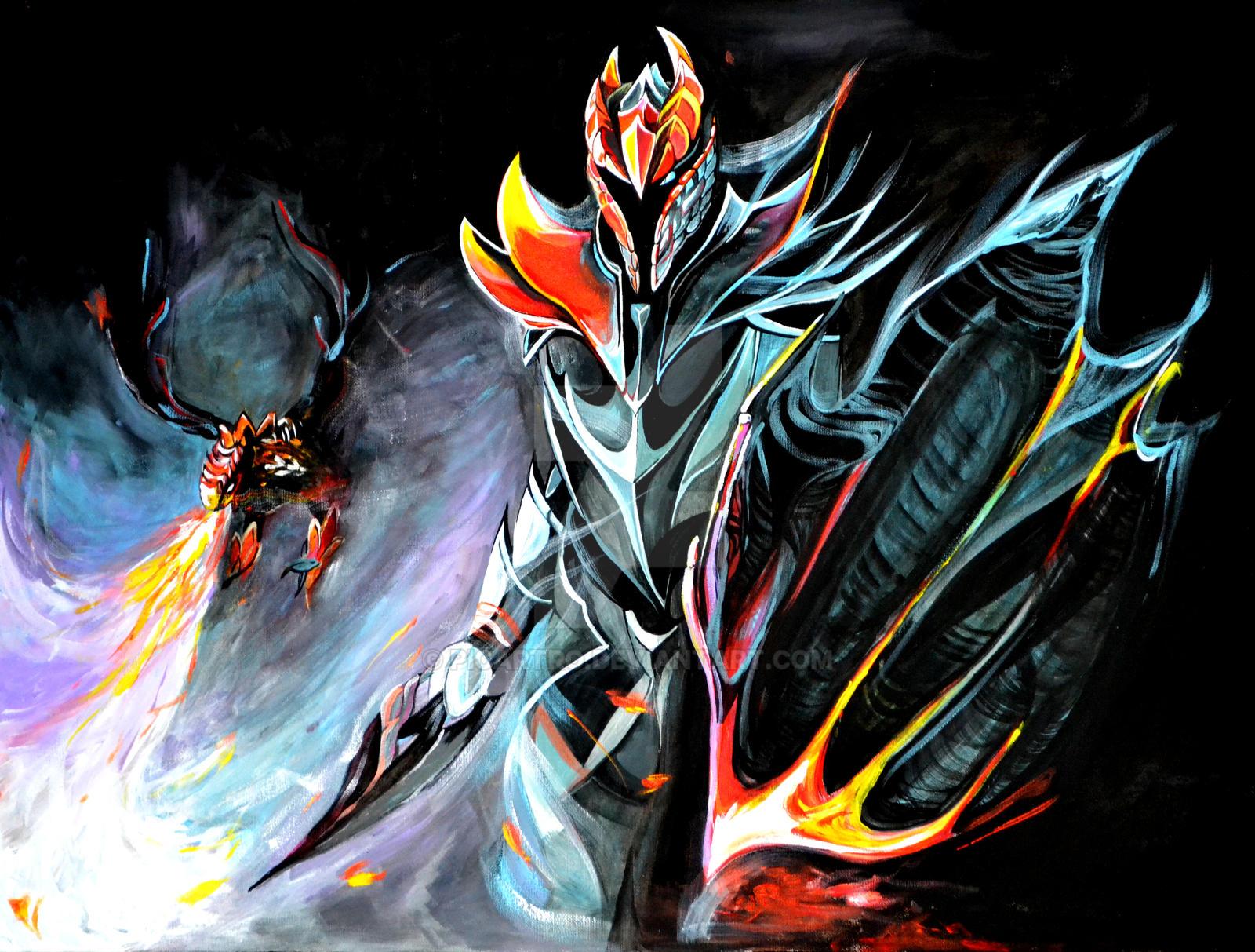 Dota2 dragon knight by picartro on deviantart dota2 dragon knight print by picartro voltagebd Gallery