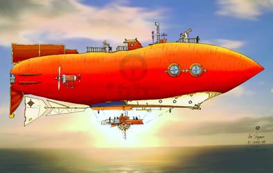 dirigible 0108 by VonShaguer