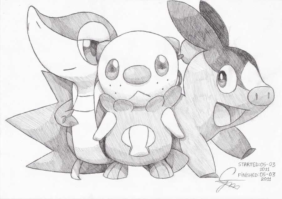 Pokemon Black And White By Guidragun1