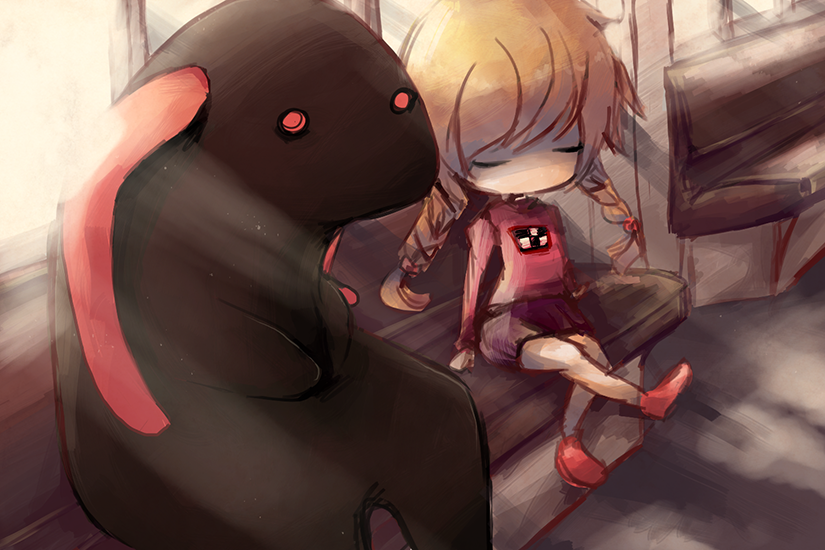 :: Yume Nikki - Train Guy :: by Requichi