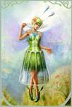 Green Fairy 2 by curlyhair