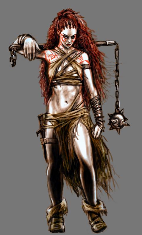 Barbarian by curlyhair