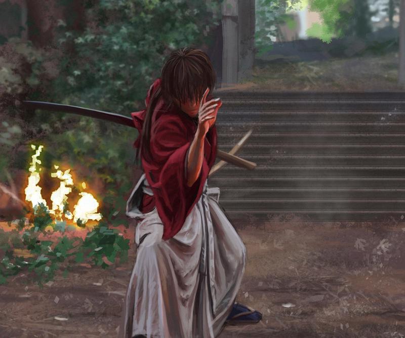 Rurouni Kenshin Practice 2 By Curlyhair On DeviantArt