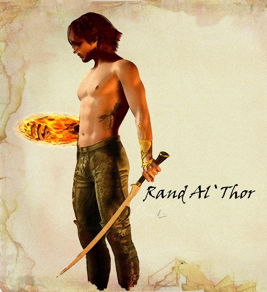 Rand al thor by DMantz