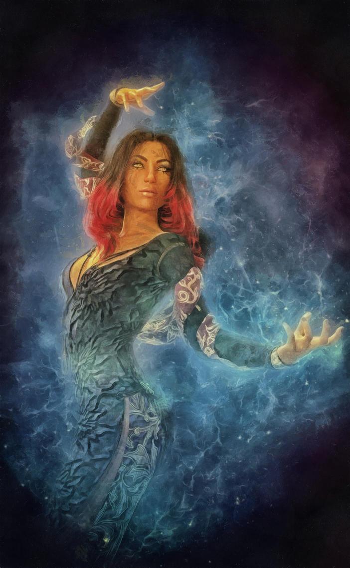 The sorceress by DMantz