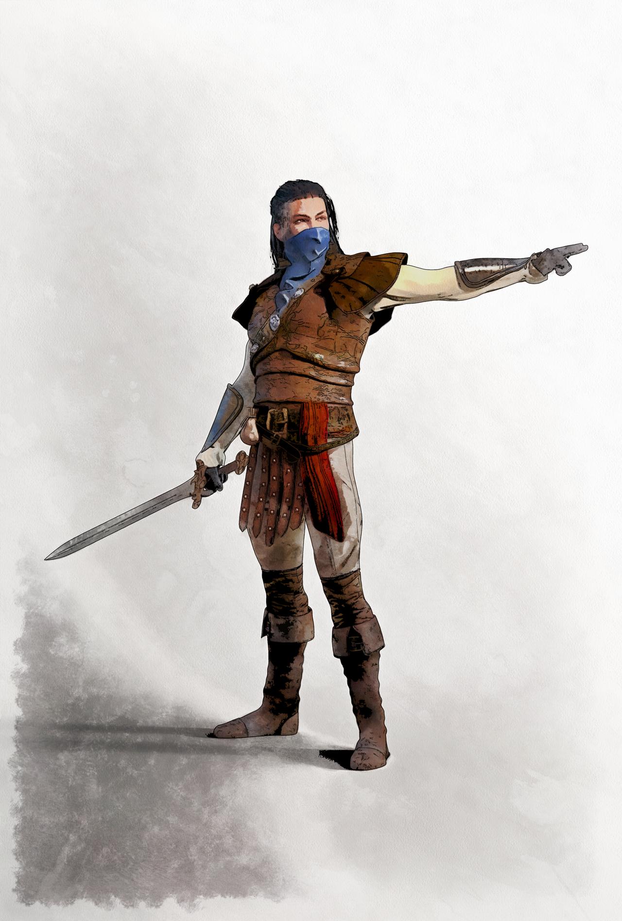 Ciaran The Vigilante by DMantz
