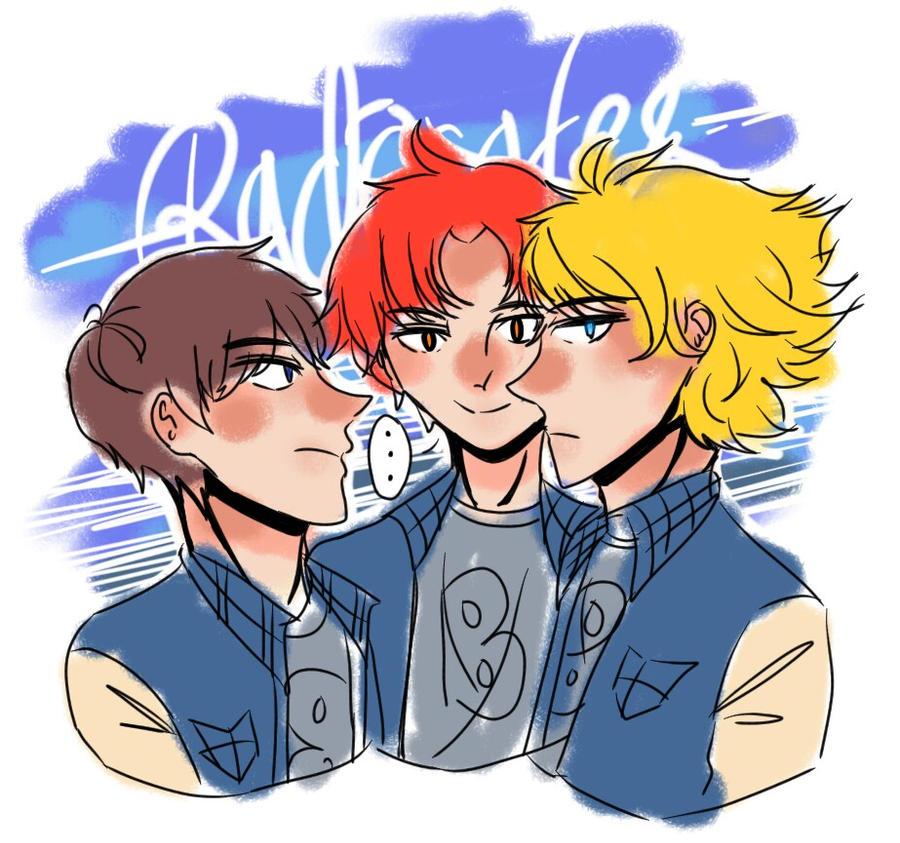jock trio
