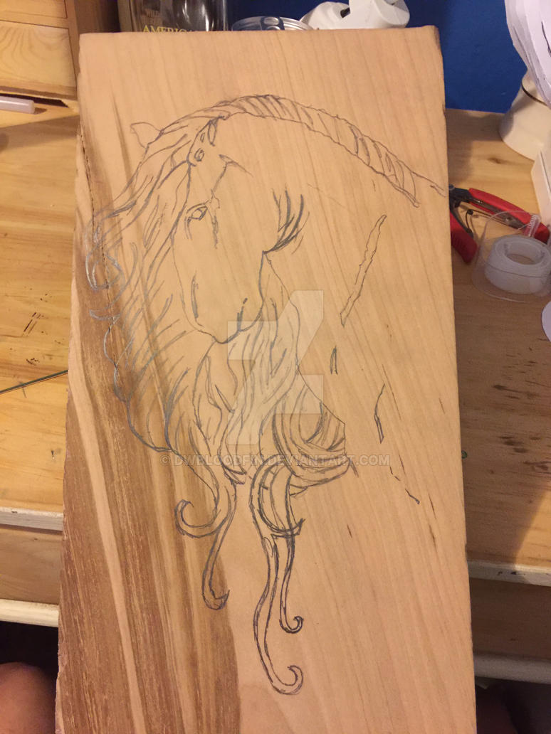 Jewelry box Horse Top by DWBloodfin