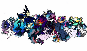 mlp next gen: (snuggly) royals by ponypepe