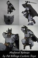 Custom Medieval Batman figure by usn1