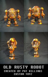 Old Rusty Robot