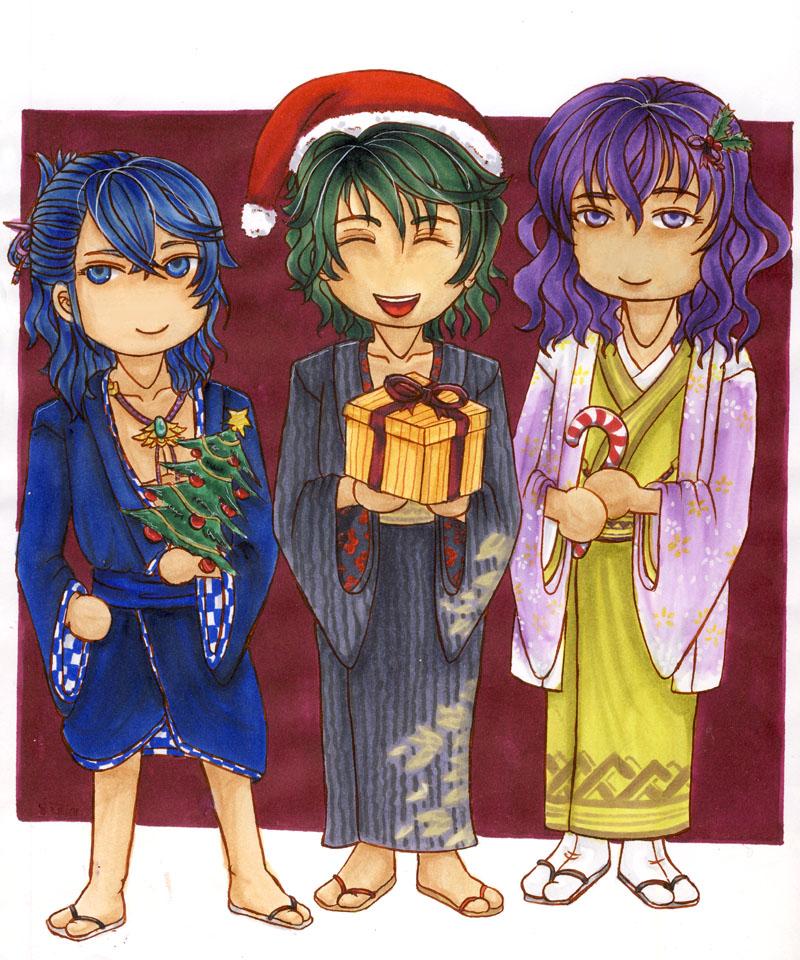 Merry Christmas everybody! by Moriachi-san