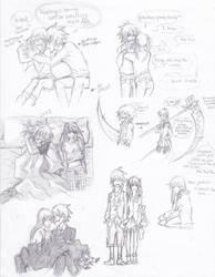 SoulMaka sketches by Jazzie560