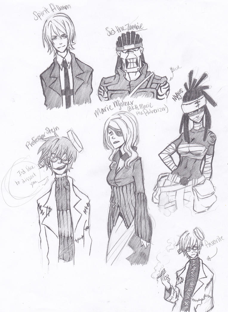 soul eater adult sketches by jazzie560 on deviantart