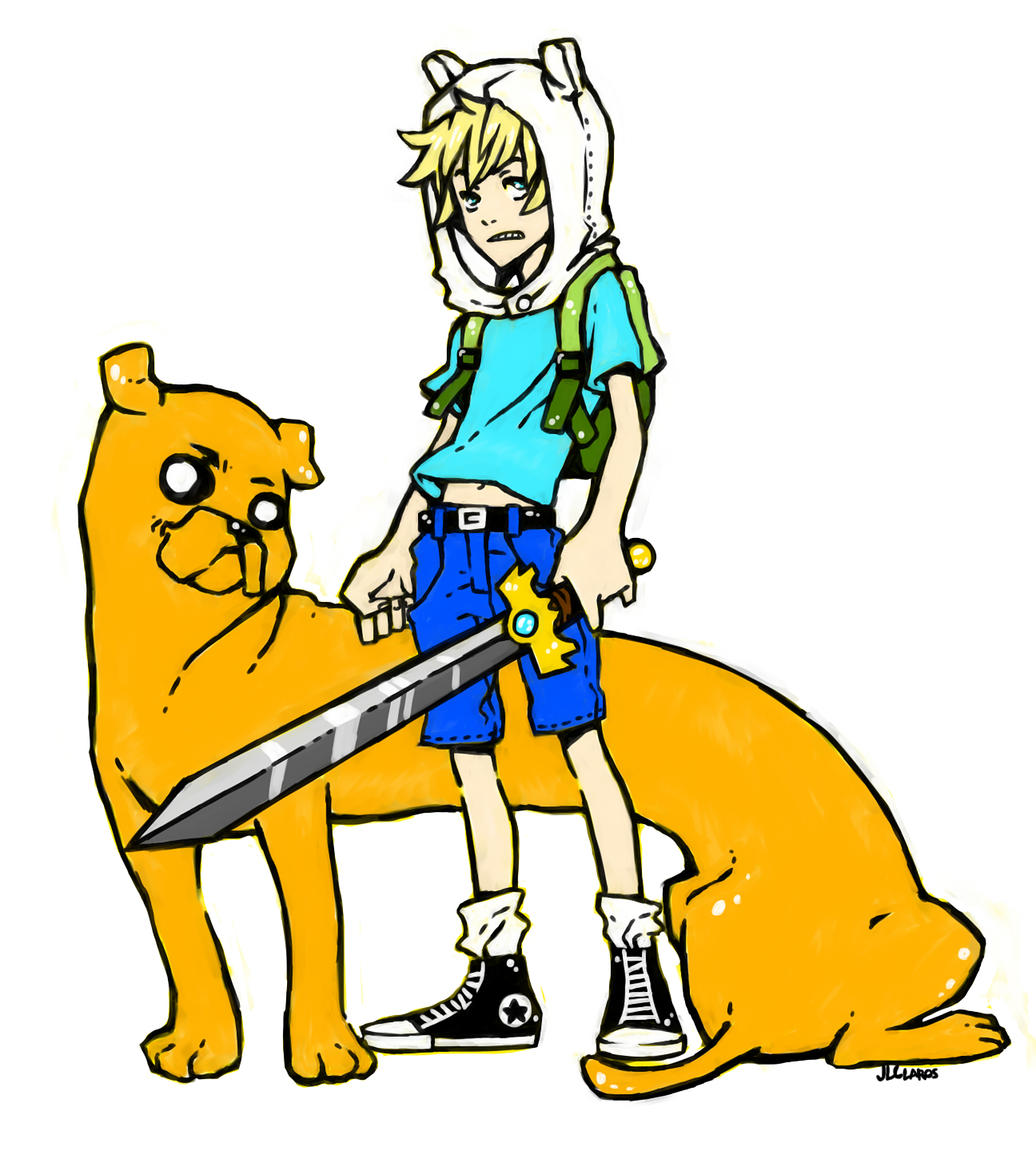 Finn and Jake by Jazzie560