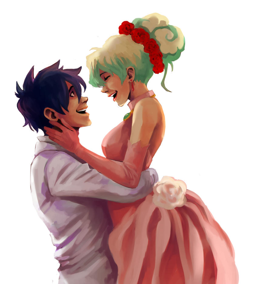Simon and Nia by Jazzie560 on DeviantArt