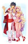 Simon and Nia Family - commission