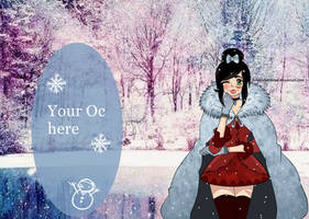 Open One Piece Collab - Winter Wonderland by lorenorkerstinxx
