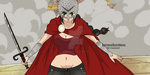 OP Oc - Kyoko the Gladiator by lorenorkerstinxx
