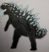 Godzilla by PLASTOSPLEEN