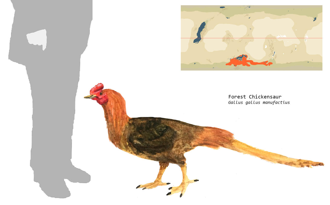 Forest Chickensaur