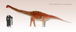 Qinlingosaurus luonanensis by PLASTOSPLEEN