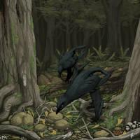 Hunting Raptors by PLASTOSPLEEN