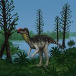 Muttaburrasaurus langdoni Life Restoration